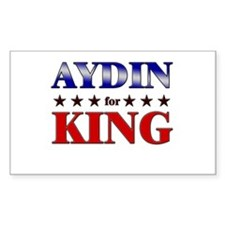 AYDIN for king Rectangle Decal