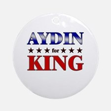 AYDIN for king Ornament (Round)