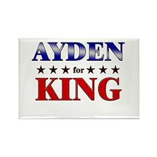 AYDEN for king Rectangle Magnet