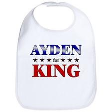AYDEN for king Bib