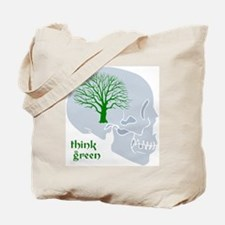 THINK GREEN Reusable Tote Bag