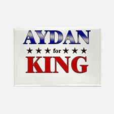 AYDAN for king Rectangle Magnet