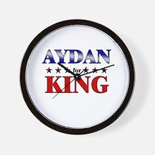 AYDAN for king Wall Clock