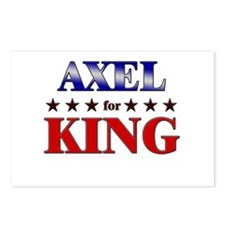 AXEL for king Postcards (Package of 8)