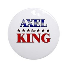 AXEL for king Ornament (Round)