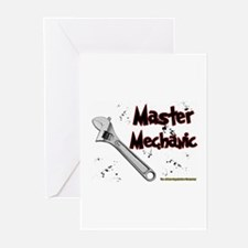 Master Mechanic Greeting Cards (Pk of 10)