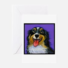 Australian Shepherd Greeting Cards (Pk of 10)