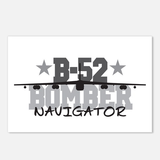 B-52 Aviation Navigator Postcards (Package of 8)