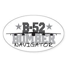 B-52 Aviation Navigator Oval Decal