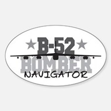 B-52 Aviation Navigator Oval Decal