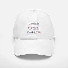 Gordon for Obama 2008 Baseball Baseball Cap