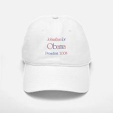Johnathan for Obama 2008 Baseball Baseball Cap