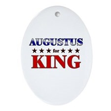 AUGUSTUS for king Oval Ornament