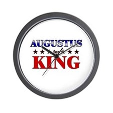 AUGUSTUS for king Wall Clock