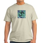 Light T-Shirt om symbol