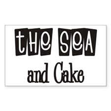 The Sea and Cake Rectangle Decal