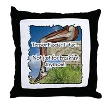 TFL Not for breakfast anymore Throw Pillow