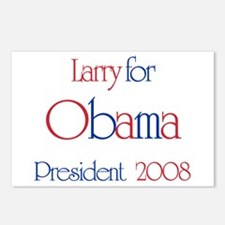 Larry for Obama 2008 Postcards (Package of 8)