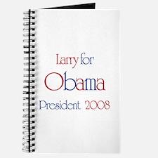 Larry for Obama 2008 Journal