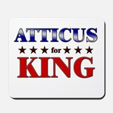 ATTICUS for king Mousepad