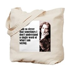 "Wilde ""So Clever"" Tote Bag"
