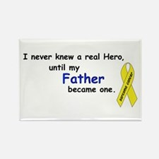 my fathers a hero Rectangle Magnet (10 pack)