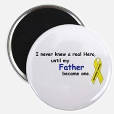"""my fathers a hero 2.25"""" Magnet (100 pack)"""