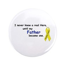 "my fathers a hero 3.5"" Button"