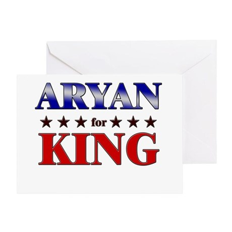 ARYAN for king Greeting Card