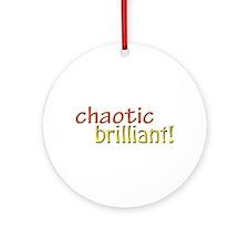 Chaotic brilliant Ornament (Round)