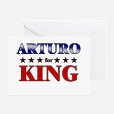 ARTURO for king Greeting Card