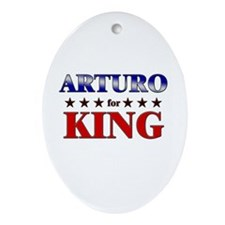 ARTURO for king Oval Ornament