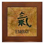 Framed Tile with symbol for energy