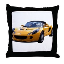 Yellow Elise Throw Pillow