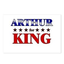 ARTHUR for king Postcards (Package of 8)