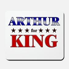 ARTHUR for king Mousepad