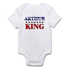 ARTHUR for king Infant Bodysuit