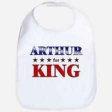 ARTHUR for king Bib