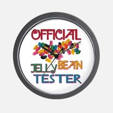 Jelly Bean Tester Wall Clock