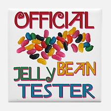 Jelly Bean Tester Tile Coaster