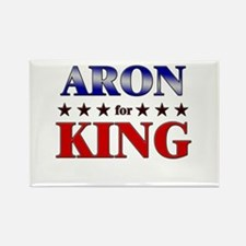 ARON for king Rectangle Magnet