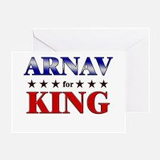 ARNAV for king Greeting Card