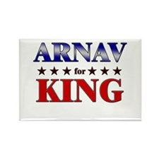 ARNAV for king Rectangle Magnet