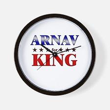 ARNAV for king Wall Clock