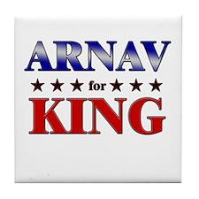 ARNAV for king Tile Coaster