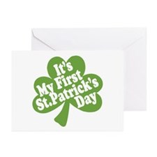 My First St. Patrick's Day Greeting Cards (Pk of 1