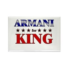ARMANI for king Rectangle Magnet
