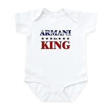 ARMANI for king Infant Bodysuit