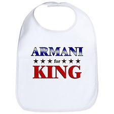 ARMANI for king Bib