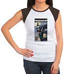 Rocketship Empires 1936 Women's Cap Sleeve T-Shirt